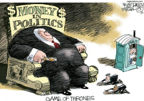 Image result for Money is the mother's milk of politics