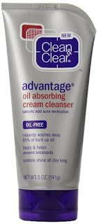 Clean&Clear Advantage Oil-absorbing Cream Cleanser