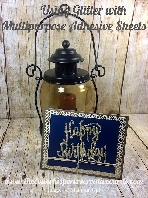 Happy Birthday, Foil Frenzy, DSP, Multipurpose Adhesive Sheets, Stampin Up, Card, Celebrate