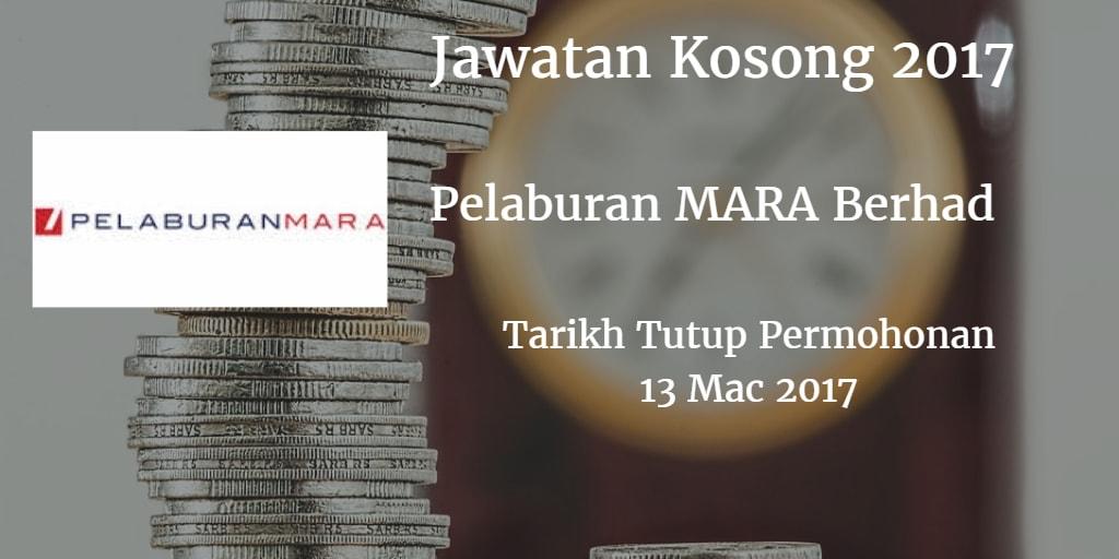 Jawatan Kosong Pelaburan MARA Berhad 13 Mac 2017