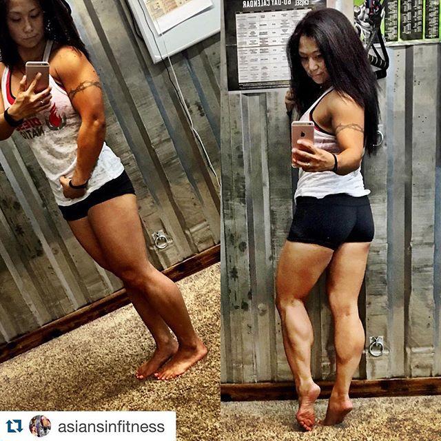 Asian Women Calves 4