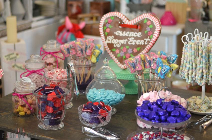 essence Blogger-Event Frühling Sommer 2016 München Candybar