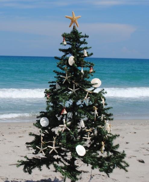 Hawaiian Christmas Tree Topper: Coastal Christmas Tree