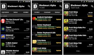 تطبيق متجر بلاك ماركت Black market لتحميل  التطبيقات المدفوعة مجانا