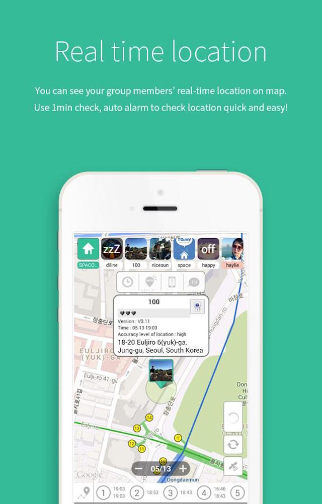 FAMY - Family Chat and location tracking app (Android and iOS)