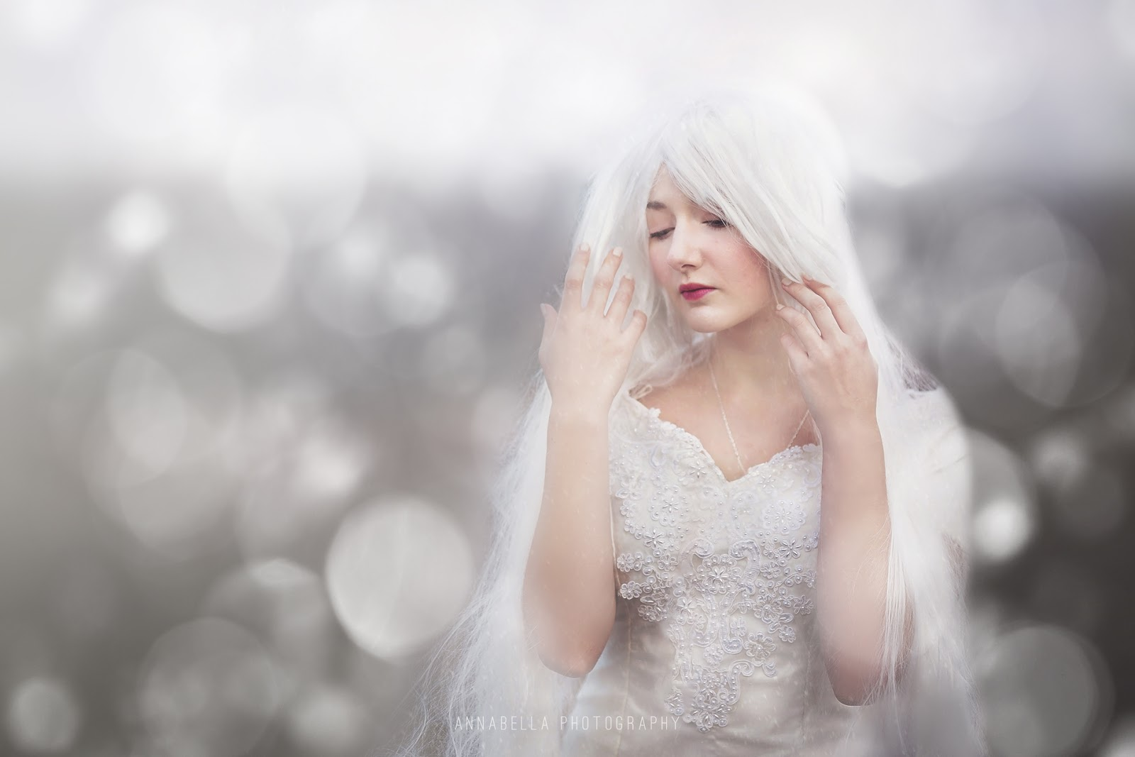 Free White Bokeh Overlay for Photographers