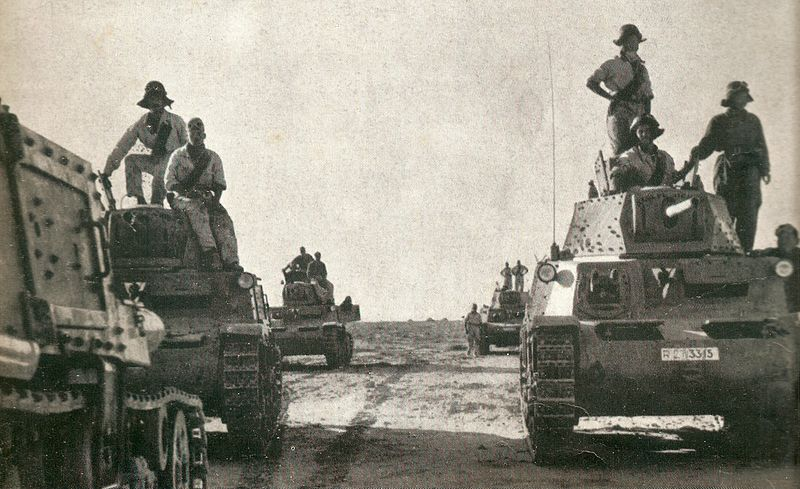 30 January 1941 worldwartwo.filminspector.com Italian M13/40 tanks Derna Banini Group