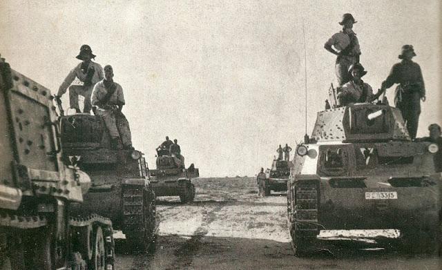 30 January 1941 worldwartwo.filminspector.com Italian M13/40 tanks Derna Banini Group