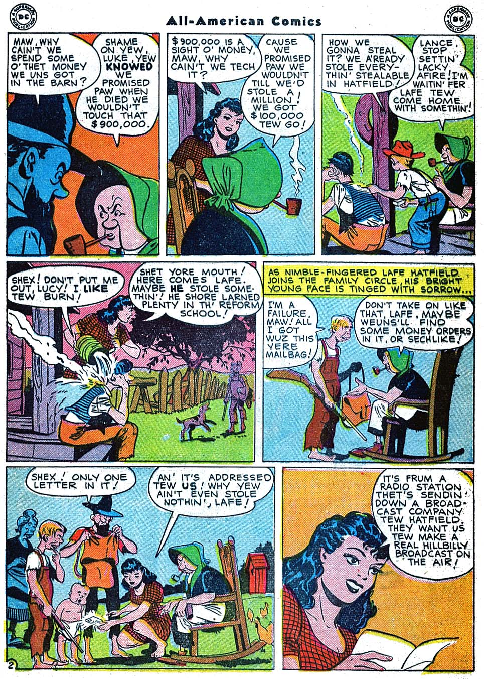 Read online All-American Comics (1939) comic -  Issue #73 - 4