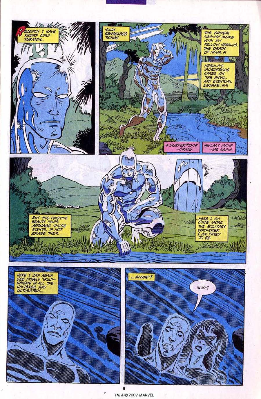 Read online Silver Surfer (1987) comic -  Issue #79 - 11
