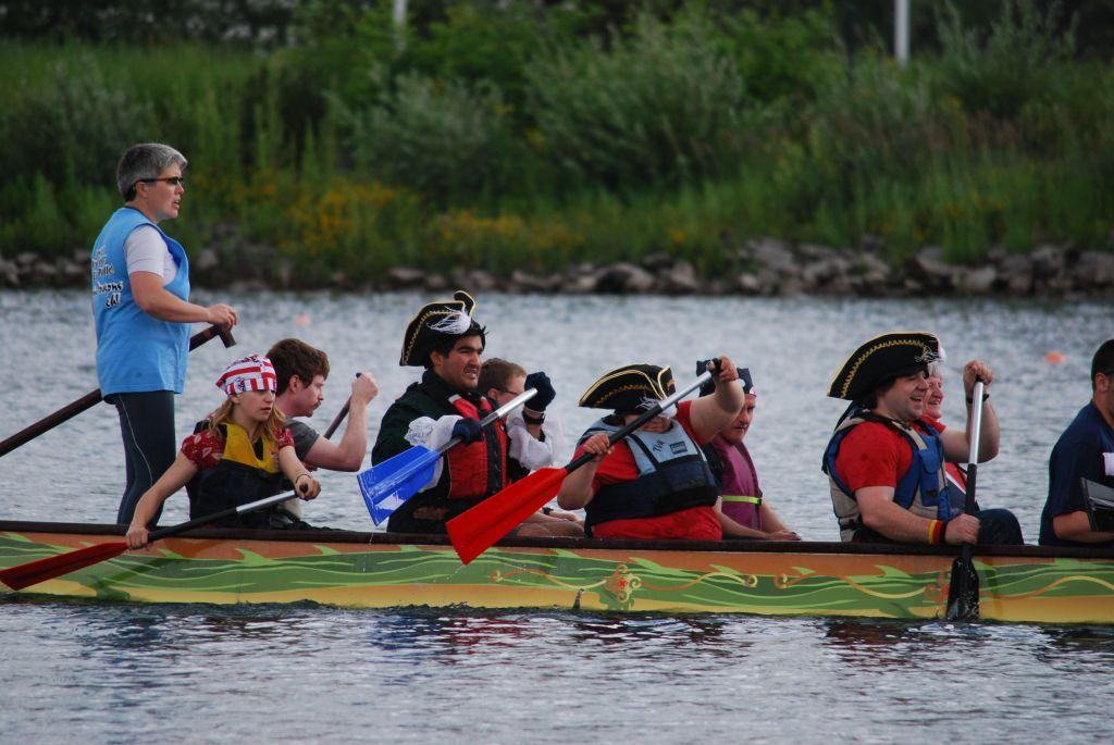 Drachenbootrennen Fühlinger See