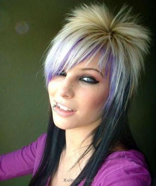 unusual crazy hair colors