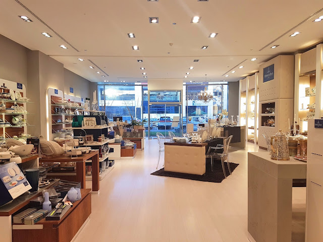 Interiors of the Villeroy & Boch Store in Al Tilal Complex, Shuwaikh, Kuwait