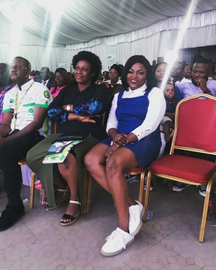 BYBzHUGA6z8 - ENTERTAINMENT: Funke Akindele Spotted With Baby Bump (Photos)