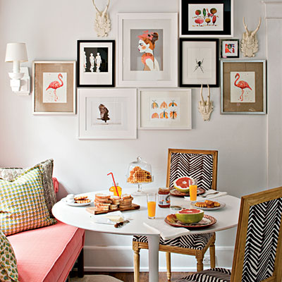 Stylish And Functional Cottage Kitchen Breakfast Nook