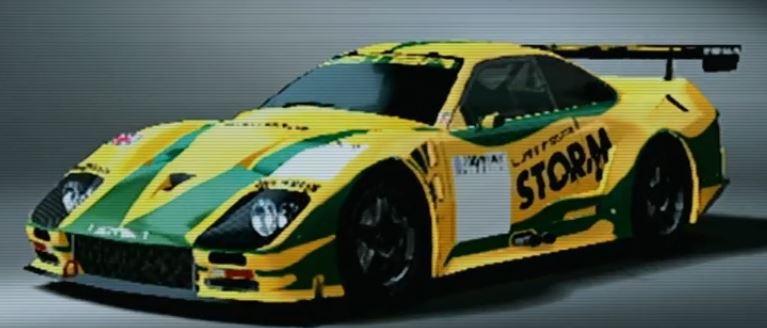 Lister Storm V12 Race Car 1999