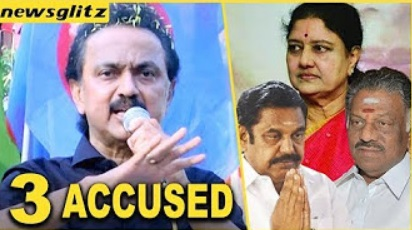 M K Stalin Latest Speech In R K Nagar Campaign | Eps | sasikala