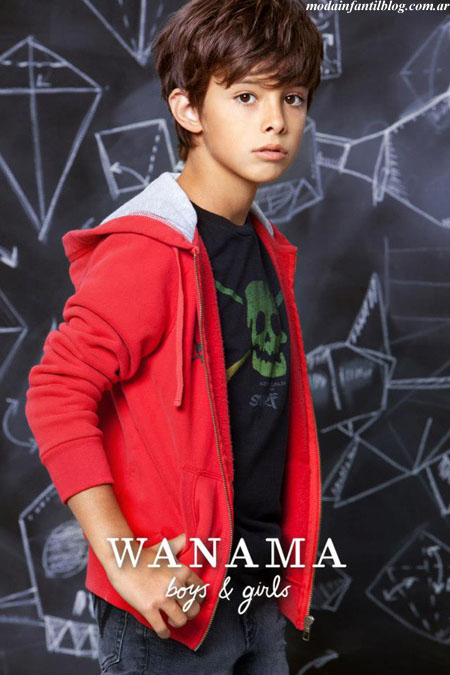 Wanama boys and girls otoño invierno 2013