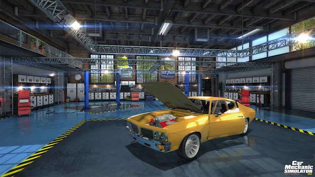 Car Mechanic Simulator 2018 Ford Free Download Compressed