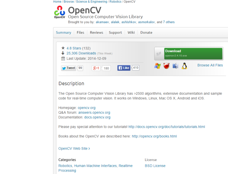 MachineSeez: Setting up OpenCV 2 4 9 on Windows 8 with Microsoft