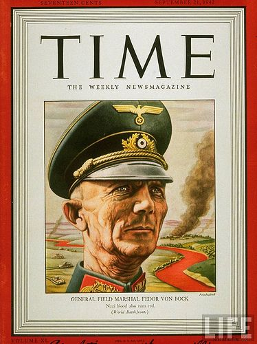 German field marshals worldwartwo.filminspector.com von Bock Time Magazine cover
