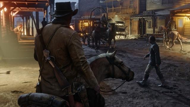 إشاعة : روكستار تخطط لطرح خاصية اللعب المشترك في لعبة Red Dead Redemption 2 بين أجهزة PS4 و Xbox One