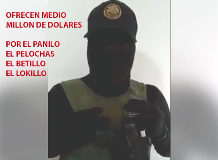 """(VIDEO) RIVALES DEL """"PANILO"""" DEL CDG OFRECEN """"MEDIO MILLON DE DOLARES"""" POR SU CABEZA."""
