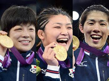 ロンドンオリンピック レスリング女子