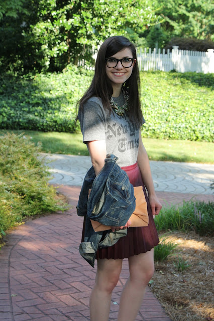 2017, summer, work wear, graphic, leather, OOTD,