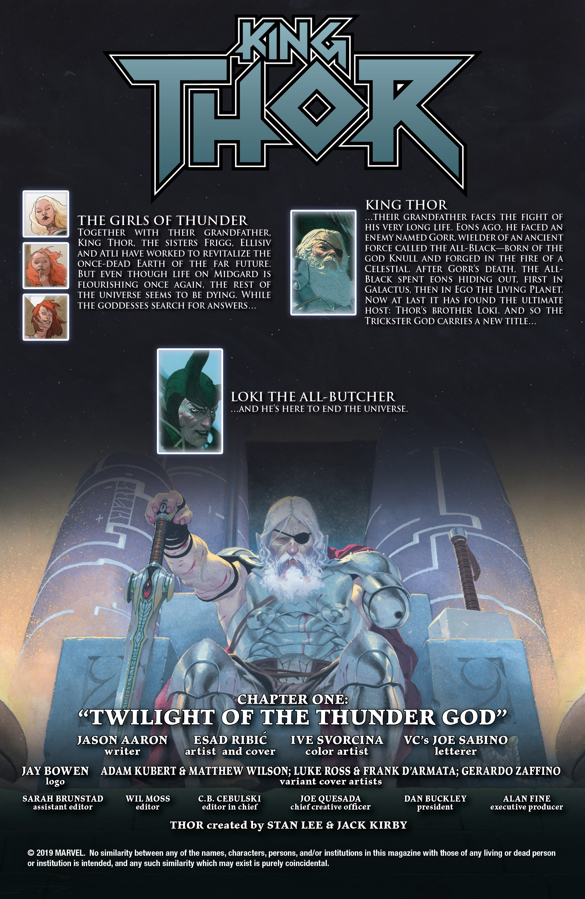 Read online King Thor comic -  Issue #1 - 2
