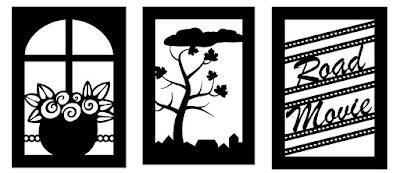 Drei Overlays für den Plotter mit verschiedenen Motiven