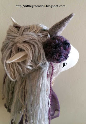 Just Acorn Mama Unicorn Doll