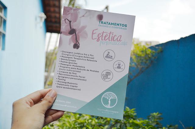 Identidade Visual para Esteticista: Logotipo, Cartão de Visita, Receituário Estético, Flyer