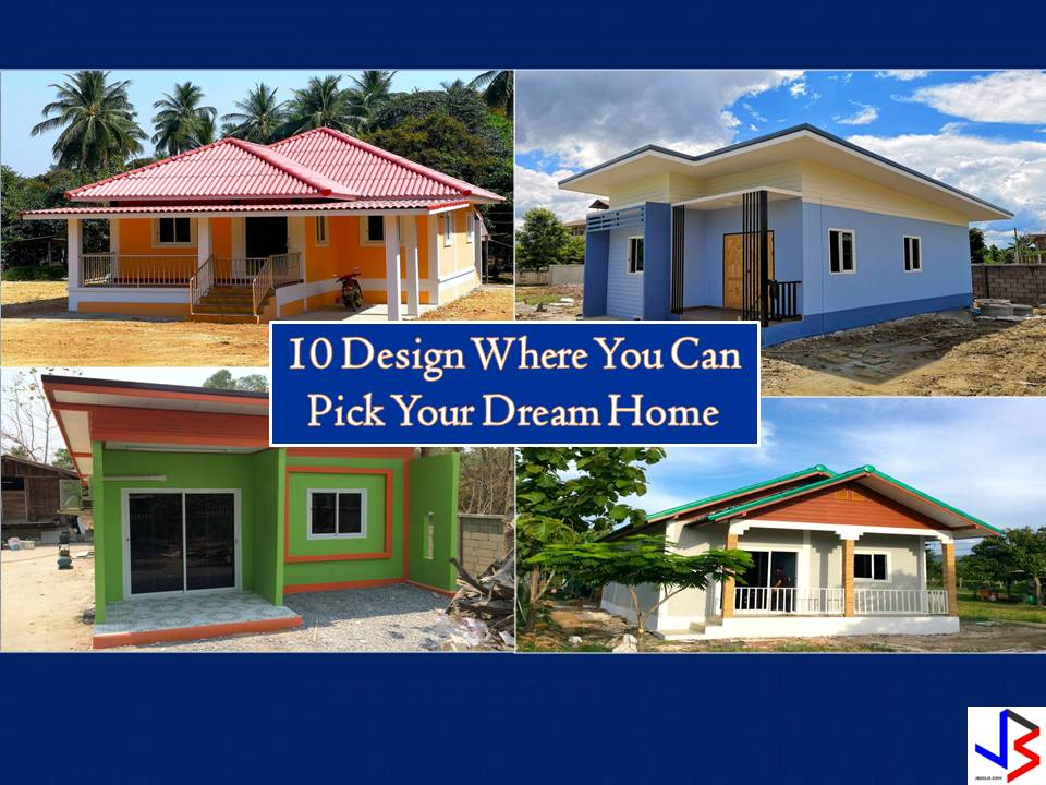 Every one of us has a reason why we choose a particular house design as our dream home. Some of us loved to have a Bungalow house design while others are saving hard for a two-story house. But many of us will be contented to have a small and humble house where our families can live safely and comfortably.   If you are looking for a house design that will match your personality and perhaps your budget, here are 10 where you can pick one as your dream home. All are single-story house design! Some are stylish and some are simple but all design can be converted into a beautiful home.
