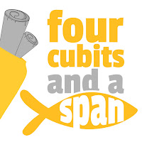 Cover logo for four cubits and a span podcast