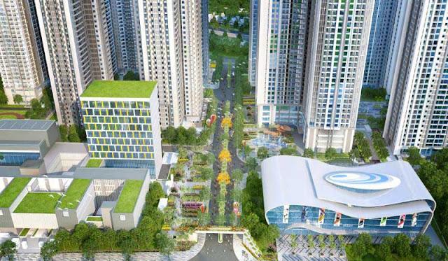 mô hình dự án căn hộ VinCity quận 9