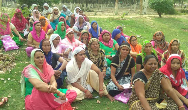 Midday Day Meal Workers Union Faridabad will start the movement with its demands