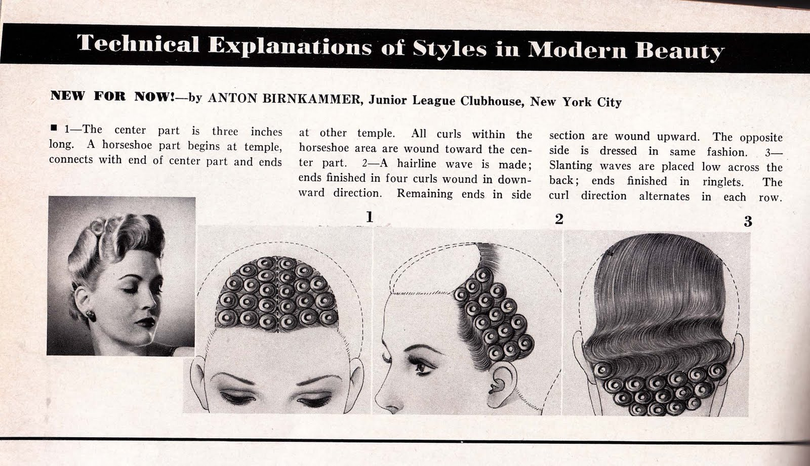 Pin Curl Diagram Wiring Software Open Source The Importance Of Being Vintage Pomps Curls And Waves