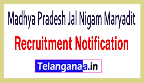 Madhya Pradesh Jal Nigam Maryadit MPJNM Recruitment