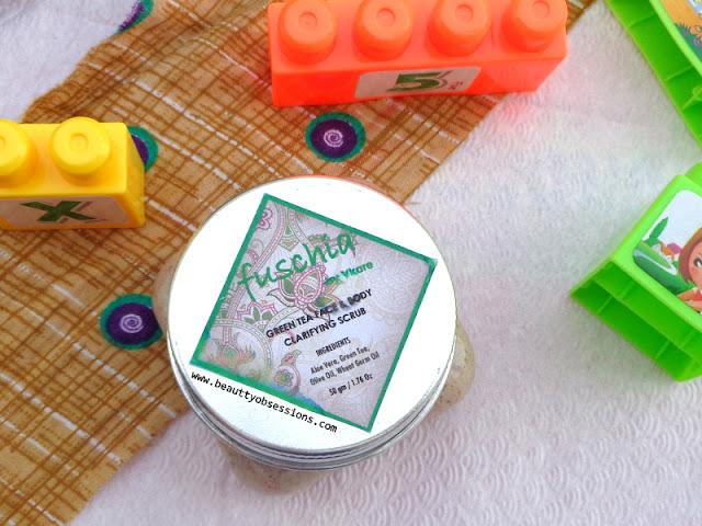 Fuschia Green Tea Face And Body Clarifying Scrub - Review