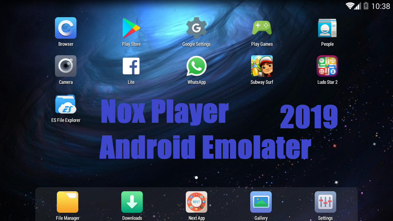 Run Android Apps With NOX PLAYER // Best Android Emolater To Run