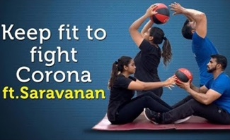 Keep fit to fight Corona 09-04-2020 Fitness expert Saravanan | Quarantine Fitness Tips | Jaya Tv