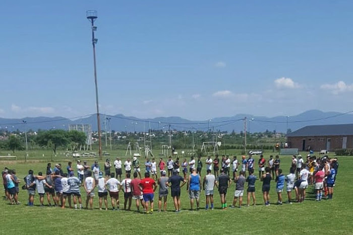 Inicio de pretemporada de Gimnasia y Tiro Rugby