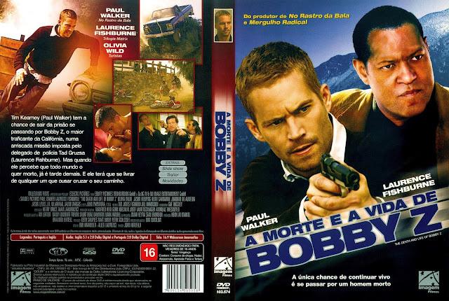 Capa DVD A Morte e a Vida de Bobby Z