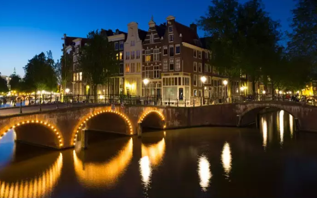 Canals At Netherlands Top 10 World's Happiest Countries 2017