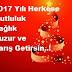 En Güzel Orjinal 2017 Yeni Yıl Mesajları
