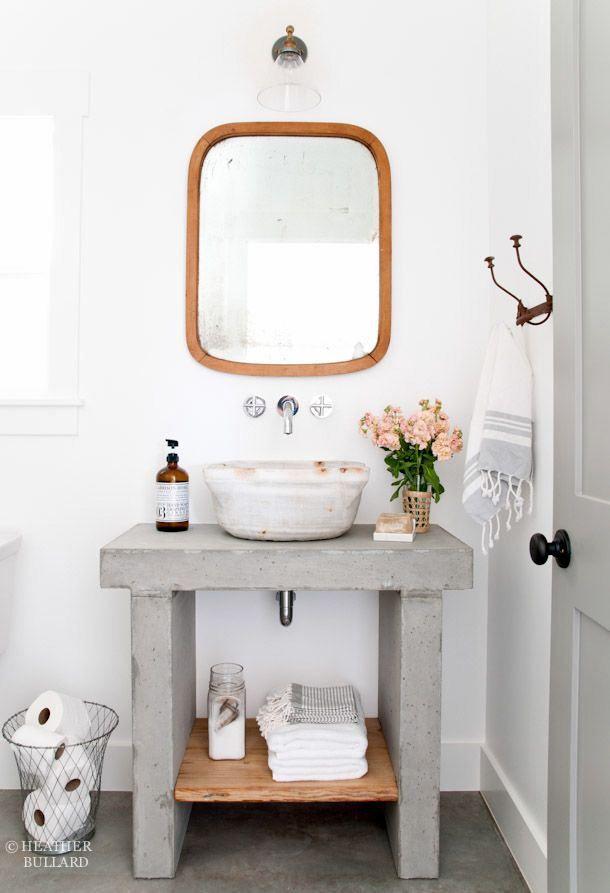 R cup et fait maison des id es r cup et d co des salles de bains tout en r cup for Spiegel wc deco
