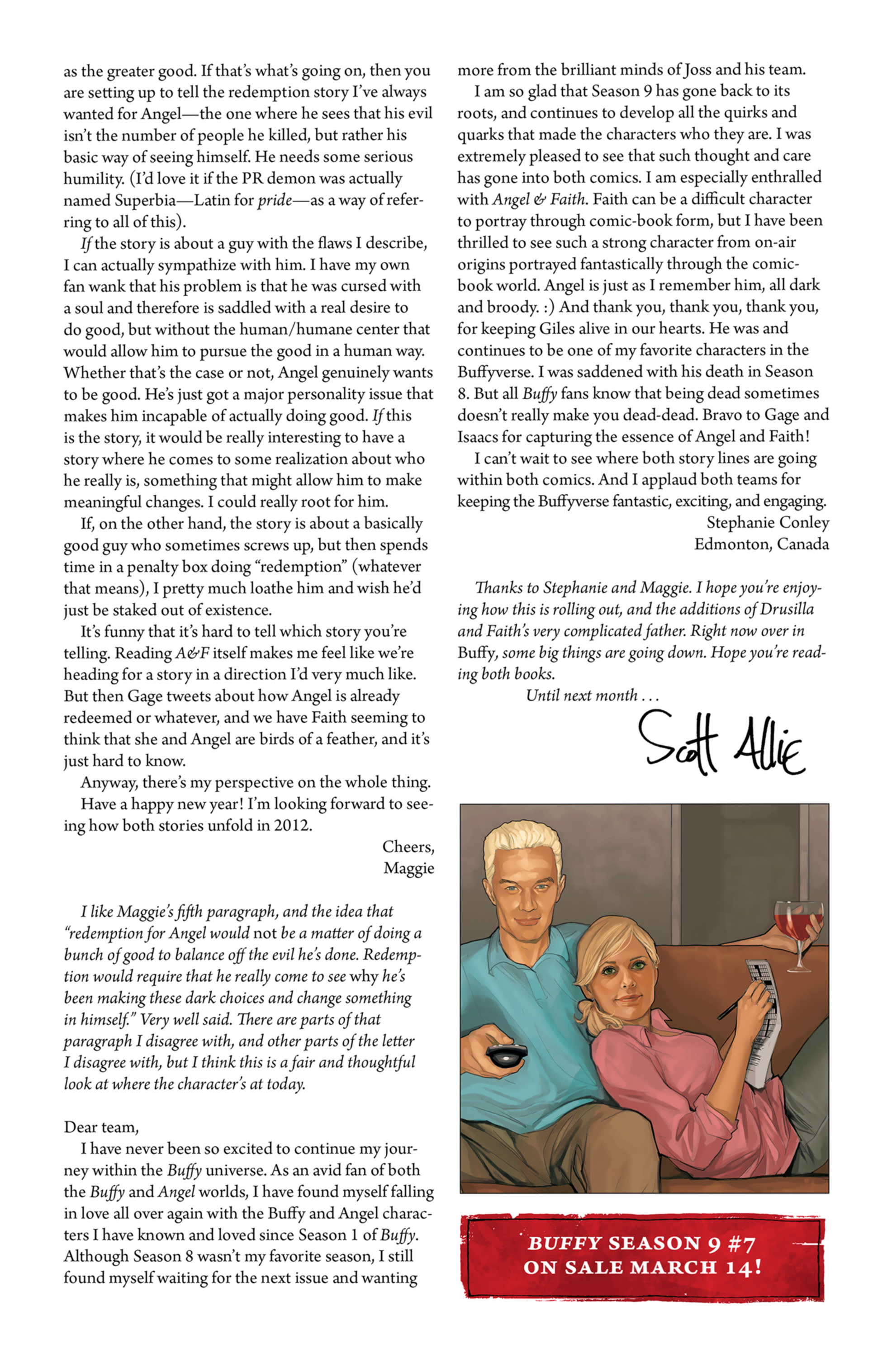 Read online Angel and Faith comic -  Issue #7 - 27