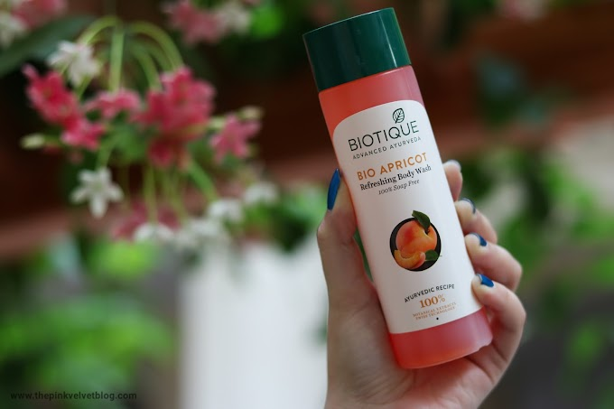 Biotique Bio Apricot Refreshing Body Wash - Review