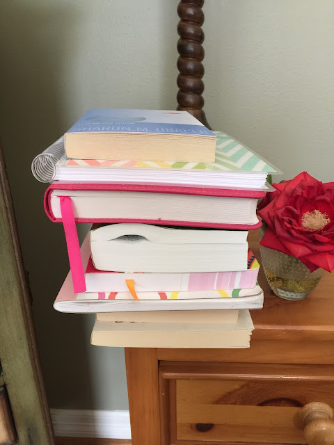 While I'm Waiting...KonMari method week 5 - books